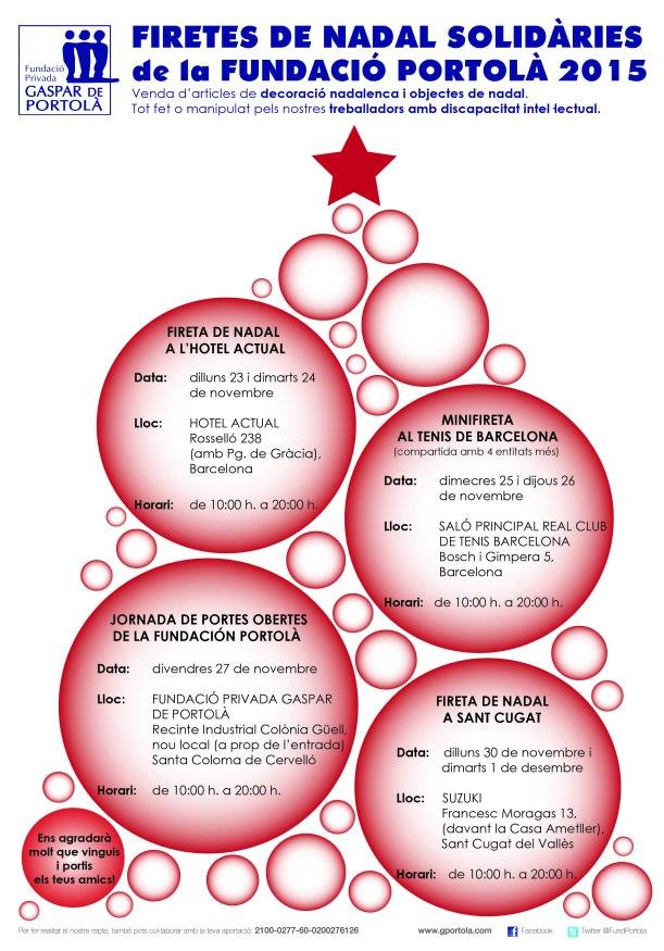 2015 GENÉRIC Firetes Nadal FPGP DINA4 ARBOL NAVIDAD
